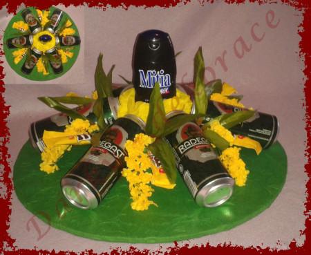 M 000186 - Pivní malý dort