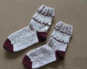 ponožky bilo-vin