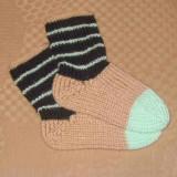 ponozky 12-13cm bez zel cerne